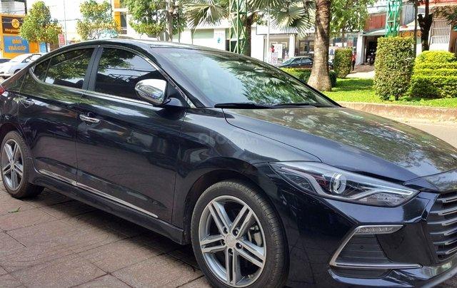 Hãng bán Hyundai Elantra Tubor 1.6AT, màu đen vip, 2018, xe cực đẹp2