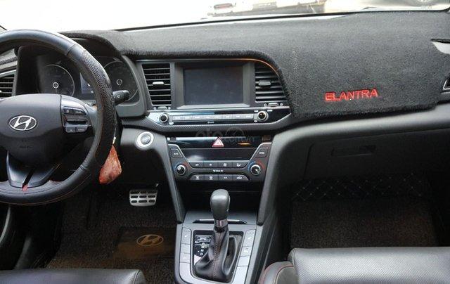 Hãng bán Hyundai Elantra Tubor 1.6AT, màu đen vip, 2018, xe cực đẹp7