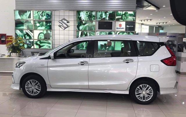 Bán nhanh chiếc xe Suzuki Ertiga GLX AT năm sản xuất 2019, màu trắng1