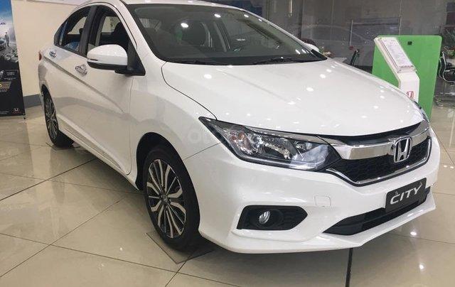 Giảm giá sốc cuối năm chiếc xe Honda City Top 1.5 đời 2019, màu trắng - Có sẵn xe - Giao nhanh toàn quốc1
