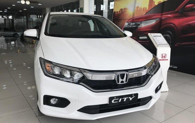 Giảm giá sốc cuối năm chiếc xe Honda City Top 1.5 đời 2019, màu trắng - Có sẵn xe - Giao nhanh toàn quốc5