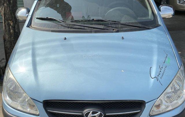 Cần bán xe Hyundai Getz đời 2009, màu xanh lam xe nhập giá tốt 179 triệu đồng0