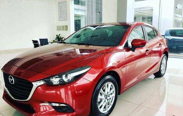 Khuyến mại lớn cuối năm chiếc xe Mazda 3 Facelift 2019, màu đỏ - Giao xe nhanh toàn quốc7