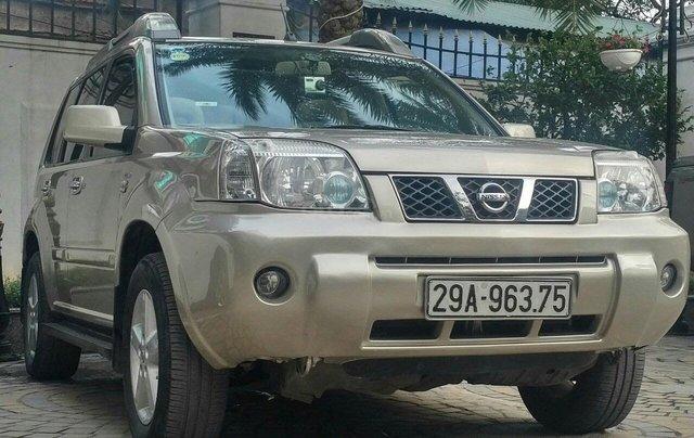 Bán ô tô Nissan X trail 2007, màu kem (be), nhập khẩu, 330 triệu0