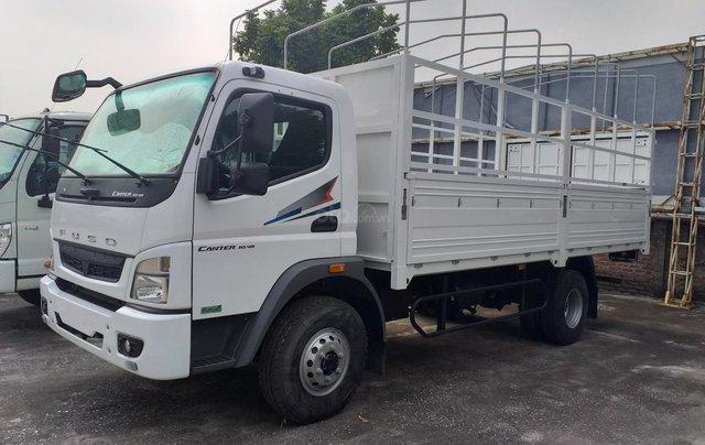 Bán xe tải Mitsubishi 5 tấn máy 140PS, thùng dài 5,3m và 6.1m đóng đủ loại thùng, hỗ trợ trả góp0