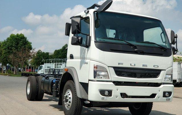 Bán xe tải Mitsubishi 5 tấn máy 140PS, thùng dài 5,3m và 6.1m đóng đủ loại thùng, hỗ trợ trả góp10