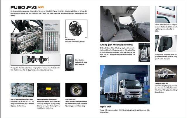 Bán xe tải Mitsubishi 5 tấn máy 140PS, thùng dài 5,3m và 6.1m đóng đủ loại thùng, hỗ trợ trả góp15
