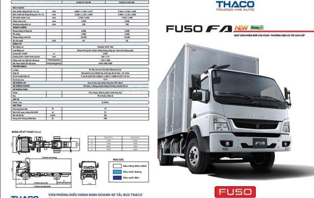 Bán xe tải Mitsubishi 5 tấn máy 140PS, thùng dài 5,3m và 6.1m đóng đủ loại thùng, hỗ trợ trả góp16