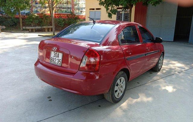 Bán Hyundai Verna năm 2008, màu đỏ xe gia đình, giá 145 triệu đồng0