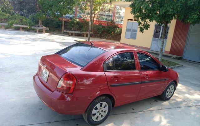 Bán Hyundai Verna năm 2008, màu đỏ xe gia đình, giá 145 triệu đồng1