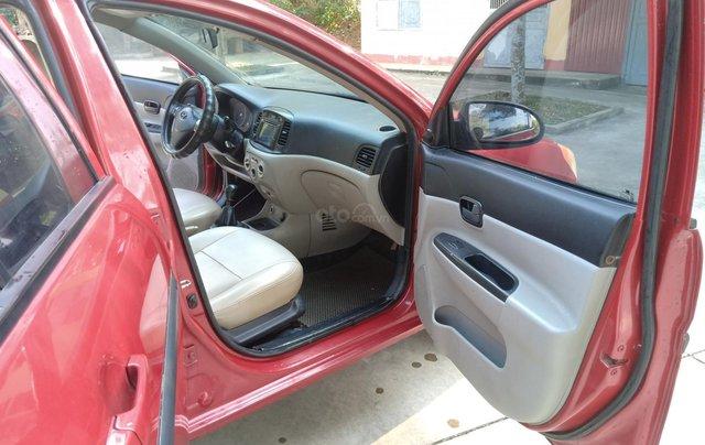 Bán Hyundai Verna năm 2008, màu đỏ xe gia đình, giá 145 triệu đồng2
