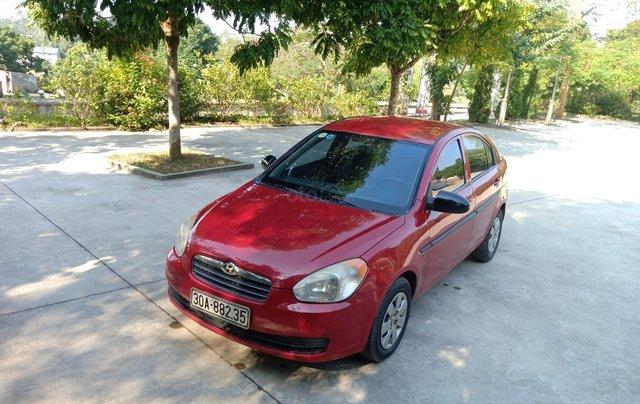 Bán Hyundai Verna năm 2008, màu đỏ xe gia đình, giá 145 triệu đồng3