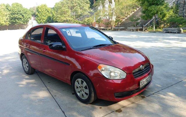 Bán Hyundai Verna năm 2008, màu đỏ xe gia đình, giá 145 triệu đồng7