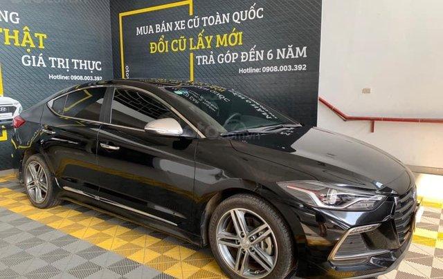 Bán xe Hyundai Elantra Turbo Sport đời 2018, màu đen, giá 668tr1