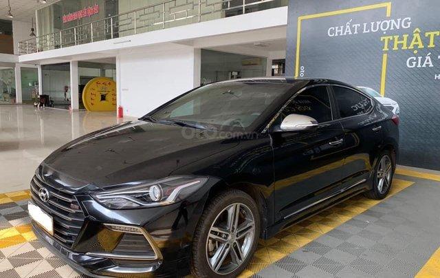 Bán xe Hyundai Elantra Turbo Sport đời 2018, màu đen, giá 668tr2