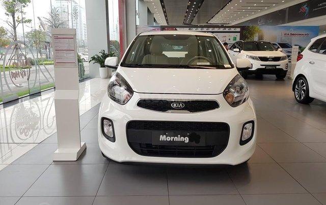 Tặng phụ kiện chính hãng khi mua xe Kia Morning AT- 2019 màu trắng, số tự động3