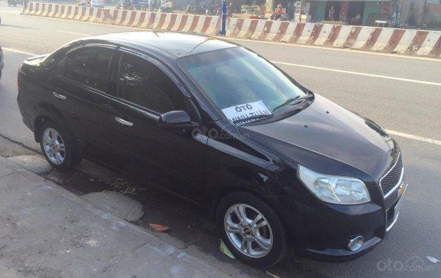 Chevrolet Aveo 2014, đăng kí 2015, màu đen, số sàn. Xe zin đẹp full chức năng2