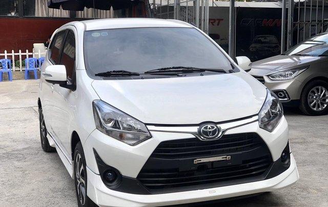 Toyota Wigo 1.2 G AT 2018, màu trắng, số tự động, trả góp3