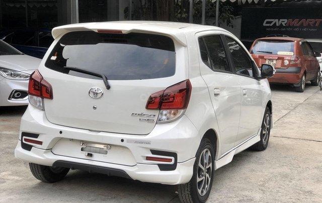 Toyota Wigo 1.2 G AT 2018, màu trắng, số tự động, trả góp7