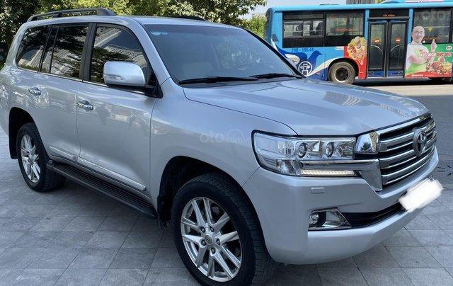 Bán Toyota Land Cruise 4.6,màu bạc 2016,1 chủ từ đầu, hóa đơn VAT 1,7 tỷ, xe siêu mới1