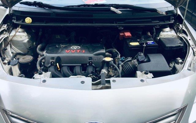 Cần bán xe Toyota Vios G tự động 2013, màu bạc, chính chủ, xe có lộc4