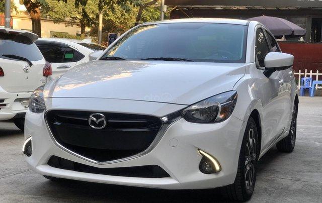 Cần bán xe Mazda 2 1.5AT 2017, số tự động, trắng, trả góp4