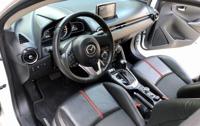 Cần bán xe Mazda 2 1.5AT 2017, số tự động, trắng, trả góp8