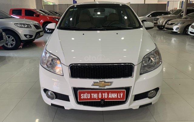 Bán Chevrolet Aveo 1.5AT đời 2017, màu trắng, giá tốt0