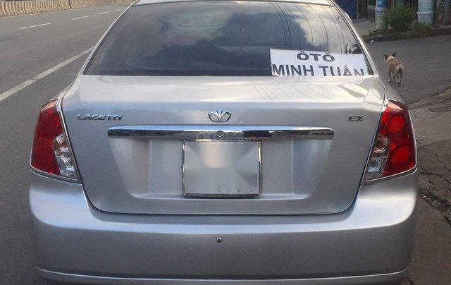 Daewoo Lacetti EX 1.6 sản xuất 2009, màu bạc, số sàn, xe zin đẹp không lỗi lầm, đi 75,000km, xe có màn hình DVD, máy êm1