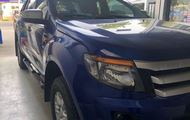 Cần bán xe Ford Ranger đời 2013, màu xanh lam nhập khẩu giá 415 triệu đồng0