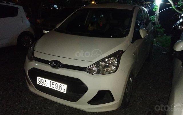 Bán Hyundai Grand i10 1.0 MT Base đời 2016, màu trắng, xe nhập Ấn0