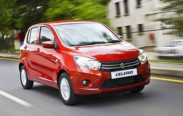 Cần bán Suzuki Celerio 1.0 CVT năm 2019, màu đỏ, nhập khẩu, 359tr
