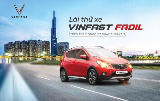 Bán VinFast Fadil A đời 2019, màu đỏ, trả góp ô tô Fadil 0%9