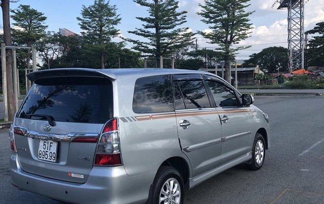 Cần bán xe Toyota Innova 2.0E 2014, xe không dịch vụ biển TP giá 508 triệu1