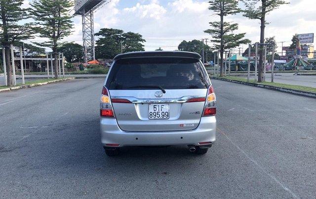 Cần bán xe Toyota Innova 2.0E 2014, xe không dịch vụ biển TP giá 508 triệu2