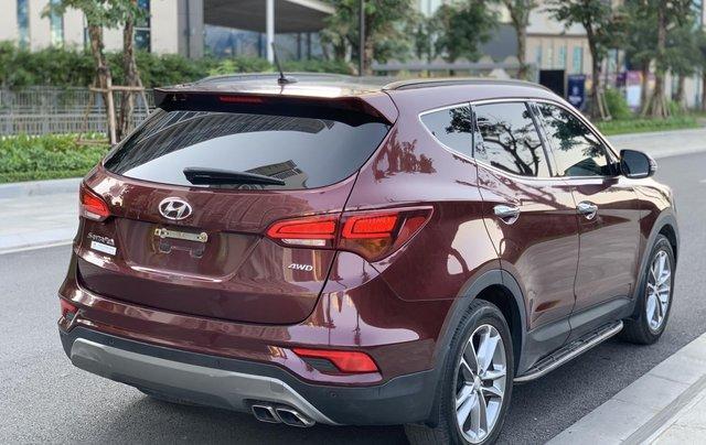 Cần bán Hyundai Santa Fe 2.4 4WD sản xuất 2018, màu đỏ7
