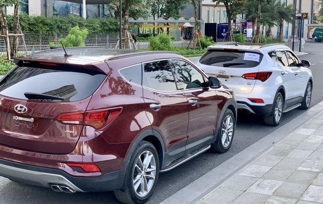 Cần bán Hyundai Santa Fe 2.4 4WD sản xuất 2018, màu đỏ9