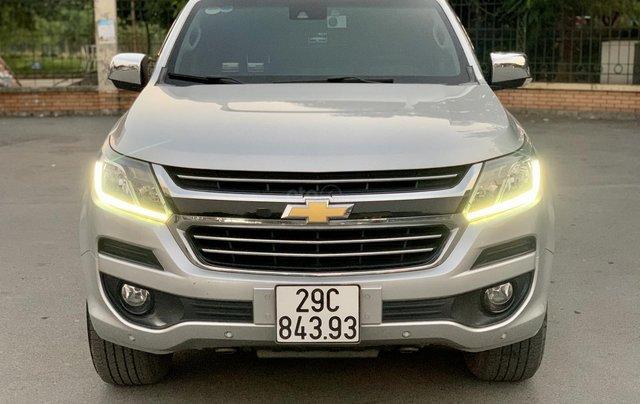 Cần bán xe Chevrolet Colorado LTZ 2.8 4x4 AT đời 2017, màu bạc, nhập khẩu0