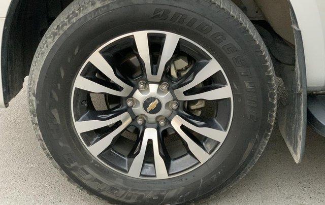 Cần bán xe Chevrolet Colorado LTZ 2.8 4x4 AT đời 2017, màu bạc, nhập khẩu2
