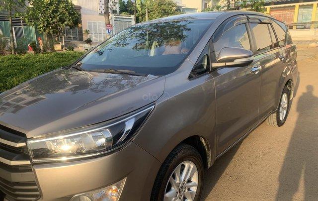 Cần bán Toyota Innova 2.0E 2018, màu nâu đồng12