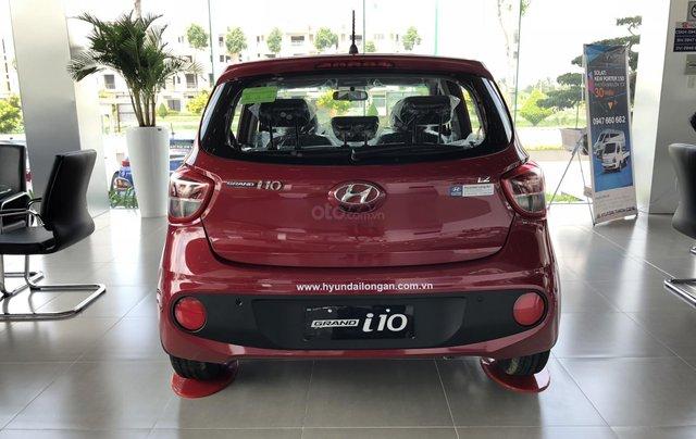 Bán Hyundai Grand i10 MT 2019, màu đỏ - trả trước chỉ 125tr1
