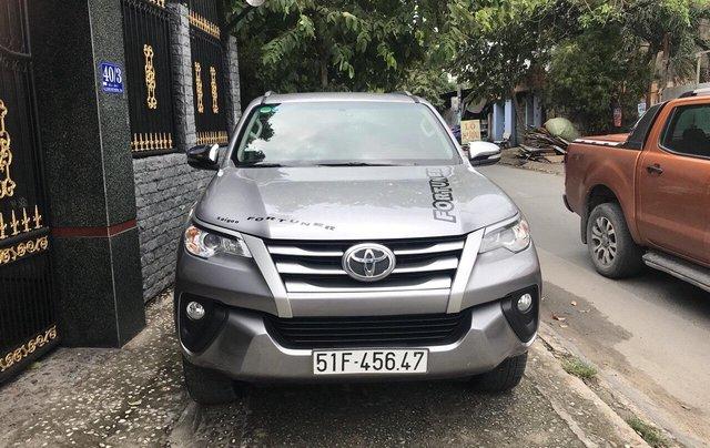 Cần bán xe Toyota Fortuner 2017, màu bạc, giá tốt0