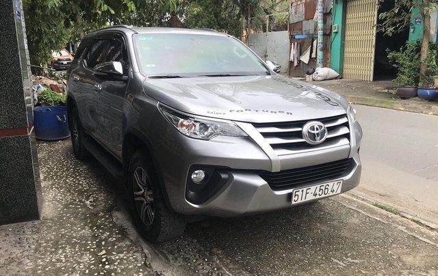 Cần bán xe Toyota Fortuner 2017, màu bạc, giá tốt5