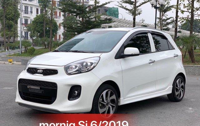 Cần bán xe Kia Morning Luxury S 2019, màu trắng0