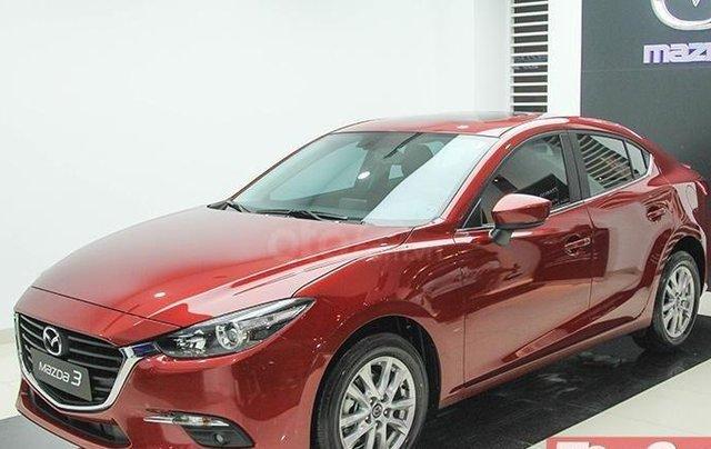 Khuyến mại lớn cuối năm chiếc xe Mazda 3 Facelift 2019, màu đỏ - Giao xe nhanh toàn quốc10