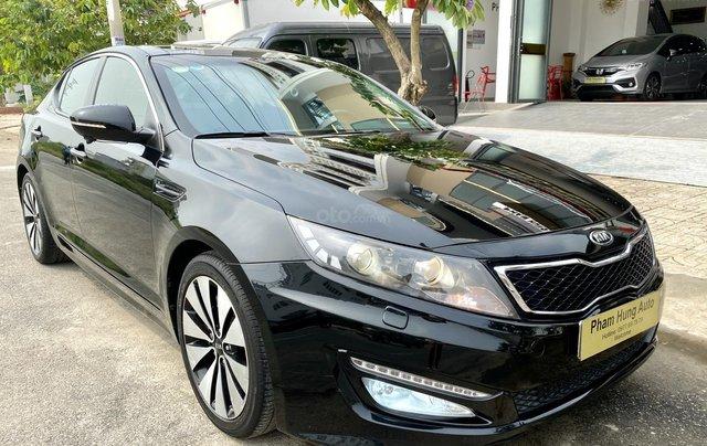 Cần bán xe Kia Optima năm ĐK 2013, màu đen, nhập khẩu nguyên chiếc3