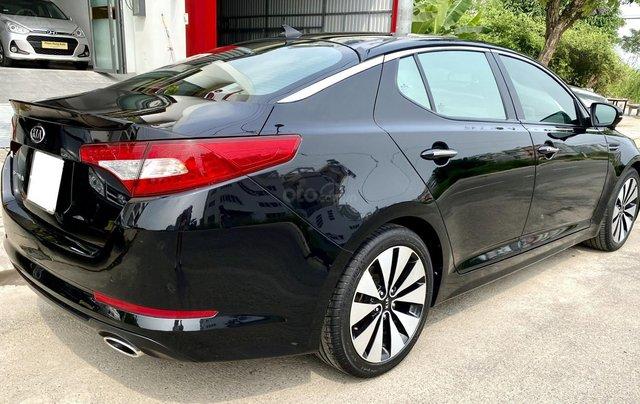 Cần bán xe Kia Optima năm ĐK 2013, màu đen, nhập khẩu nguyên chiếc8