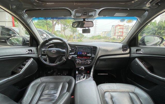 Cần bán xe Kia Optima năm ĐK 2013, màu đen, nhập khẩu nguyên chiếc10