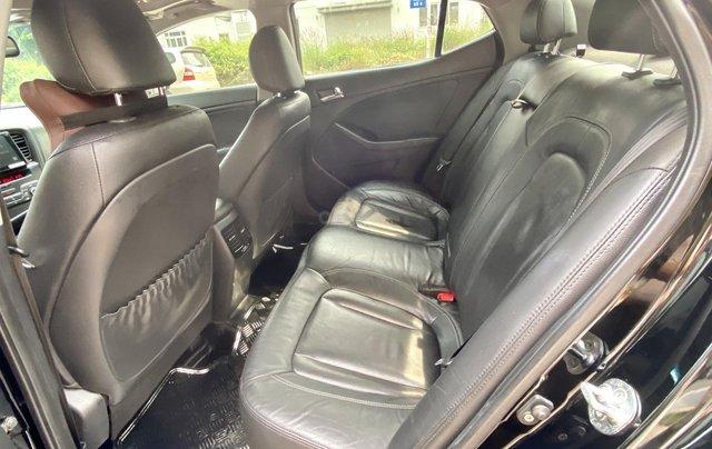 Cần bán xe Kia Optima năm ĐK 2013, màu đen, nhập khẩu nguyên chiếc12