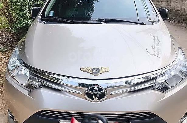 Cần bán lại xe Toyota Vios 1.5E CVT đời 2016, 465 triệu0